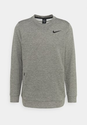 CREW STANDARD FIT - Sweatshirt - dark grey heather/black