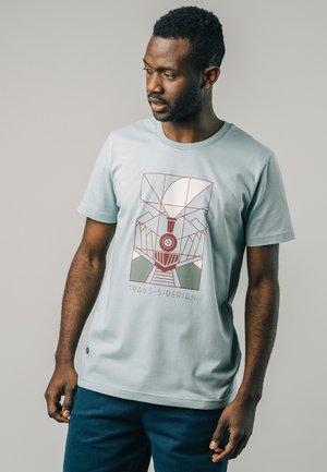 TRANSSIBERIAN STONE - T-shirts print - blue