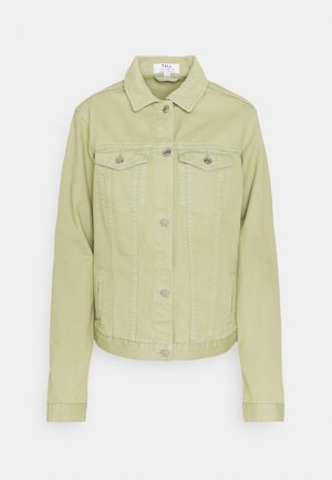 TALL - Denim jacket - pistachio