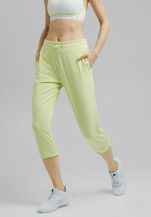 3/4 sports trousers - lime yellow