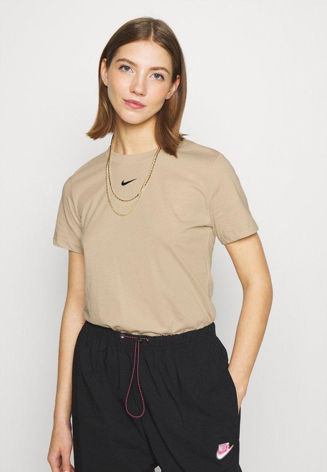 TEE CREW - T-shirt basique - oatmeal
