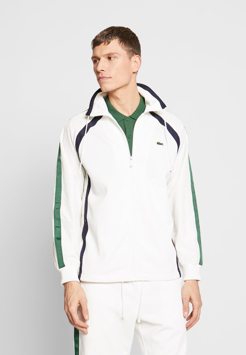 Lacoste - Summer jacket - flour/dark navy/green