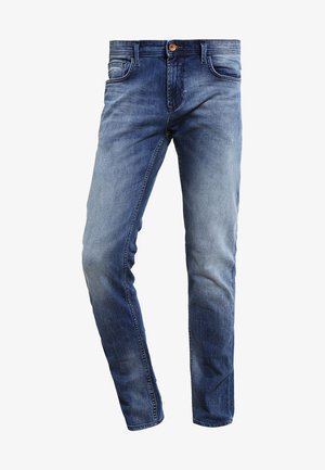 Slim fit jeans - light stone wash denim