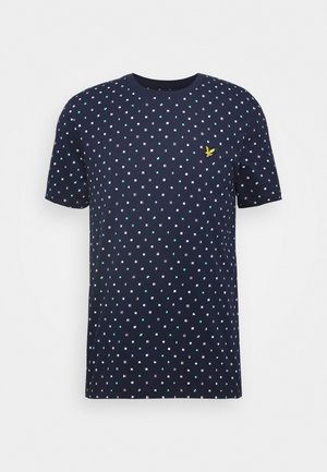 FLAG - T-shirt med print - navy