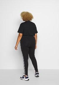 Fila Plus - TASYA - Leggings - black/bright white - 2