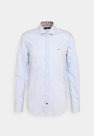 MINI CHECK SLIM FIT - Camicia - light blue/white