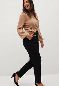 Violeta by Mango - TRAVEL - Trousers - black - 3