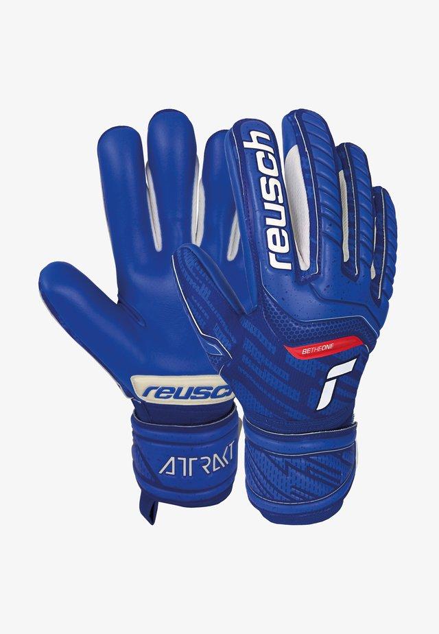 Goalkeeping gloves - deep blue / deep blue