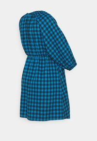 Missguided Maternity - PUFF SLEEVE GINGHAM DRESS - Jersey dress - blue - 1