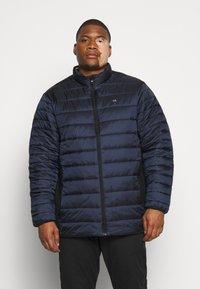 Calvin Klein - LIGHT WEIGHT SIDE LOGO JACKET - Giacca invernale - blue - 0