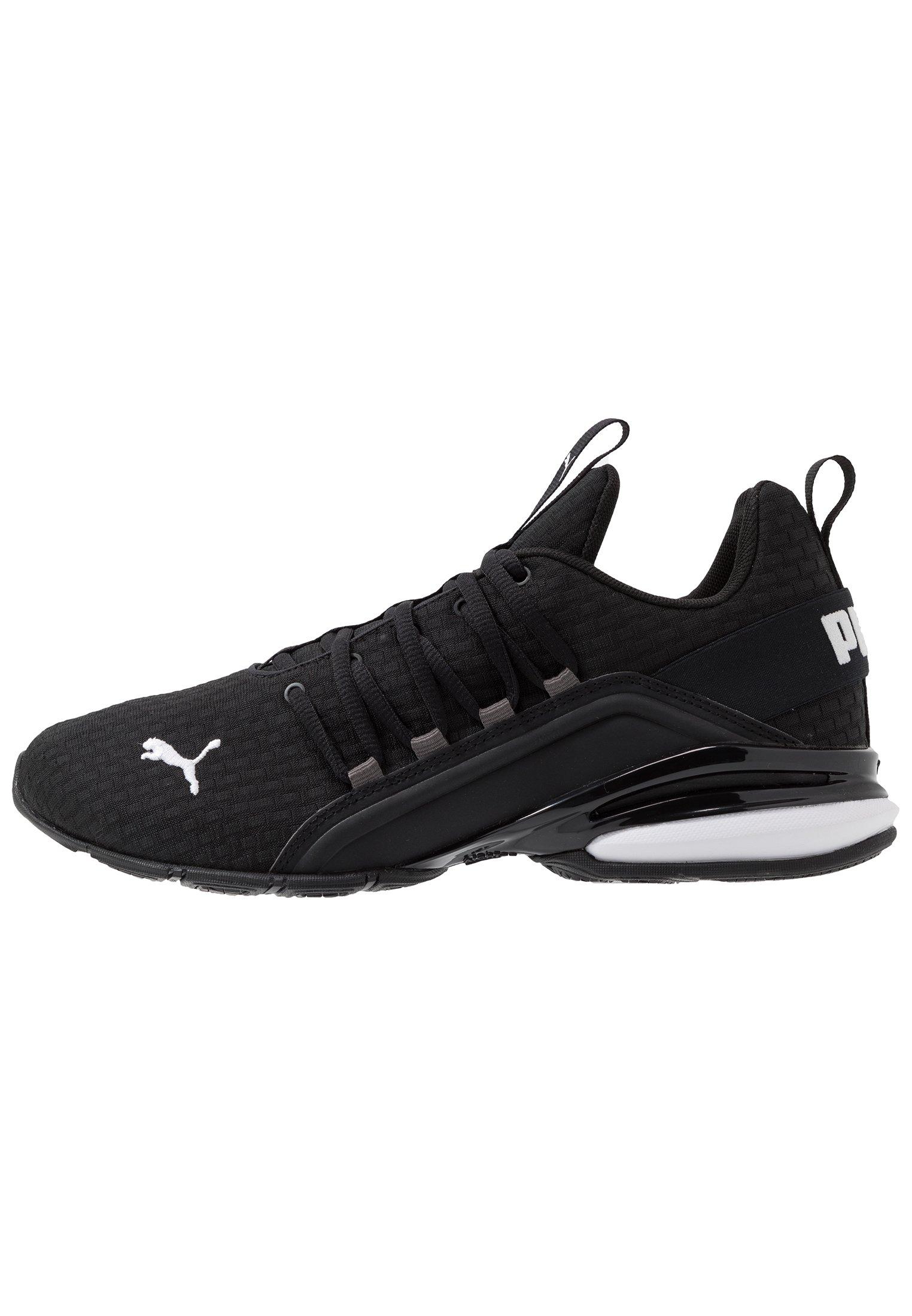 AXELION BLOCK - Chaussures d'entraînement et de fitness - black/white