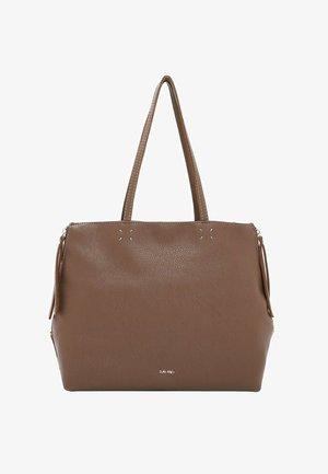 KETTY - Handbag - darktaupe