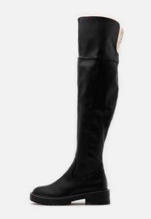 ONLBOLD TALL BOOT - Cuissardes - black