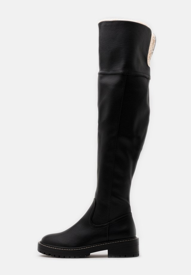 ONLBOLD TALL BOOT - Over-the-knee boots - black