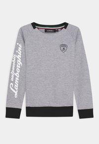 Automobili Lamborghini Kidswear - CREWNECK WITH CONTRAST INSERTS - Sweatshirt - grey antares - 0