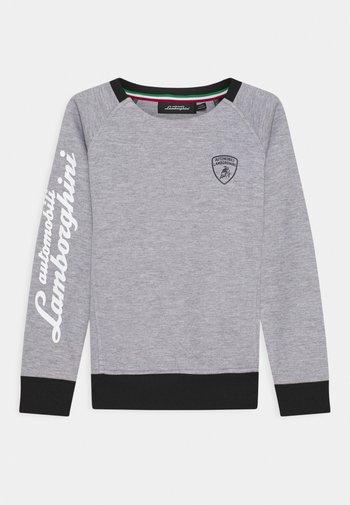 CREWNECK WITH CONTRAST INSERTS - Sweatshirt - grey antares