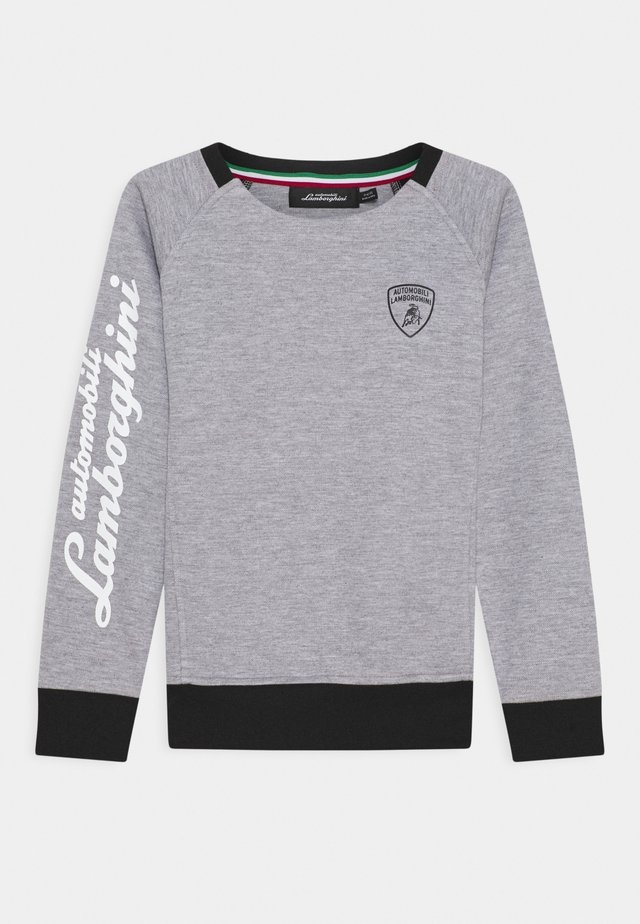 CREWNECK WITH CONTRAST INSERTS - Sweatshirt - grey antares