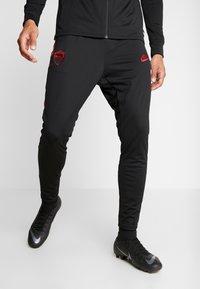 Nike Performance - AS ROM DRY SUIT - Klubbkläder - black/team crimson - 3