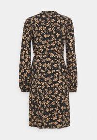 Moss Copenhagen - CALIA DRESS - Skjortekjole - black - 1