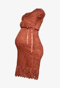 MAMALICIOUS - MLNEWMIVANA DRESS - Vestido de cóctel - arabian spice - 3