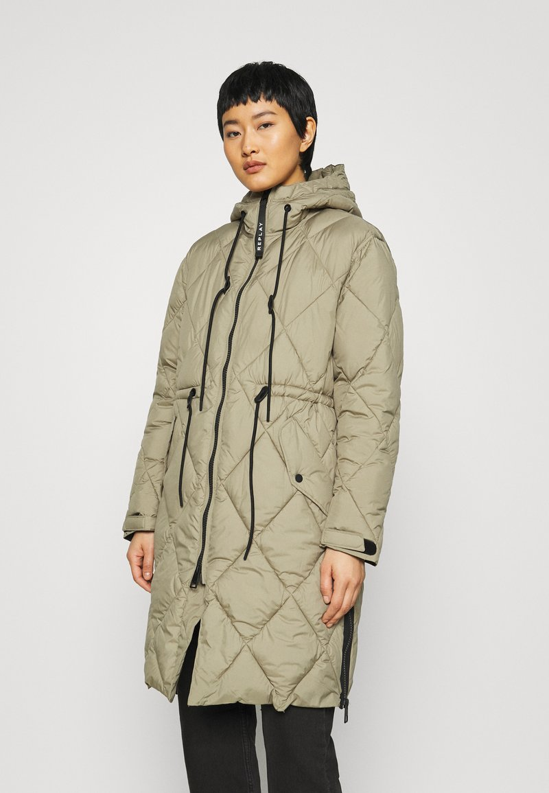 Replay - OUTERWEAR - Winter coat - light military