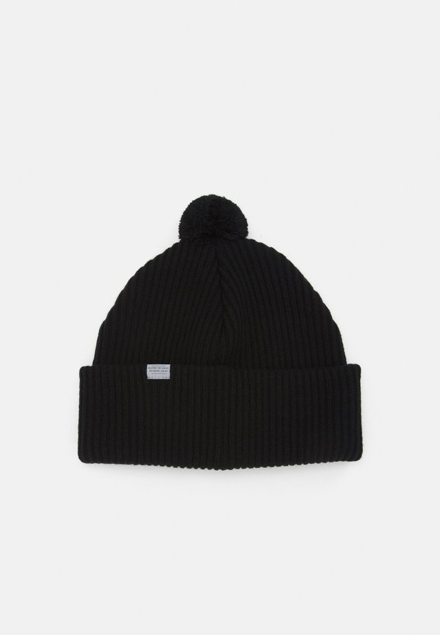 BEAKER UNISEX - Bonnet - true black