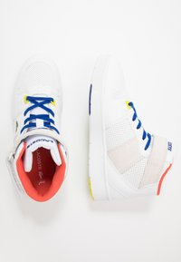 Lacoste - TRAMLINE MID - High-top trainers - white/yellow - 0