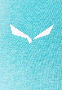 Salewa - AGNER HYBRID DRI TANK - T-shirt de sport - maui blue melange - 6