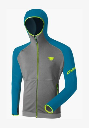 TRANSALPER THERMAL  - Zip-up hoodie - mykonos blue