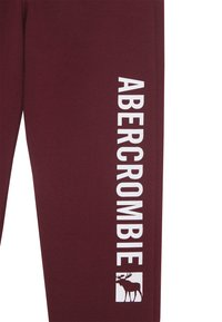 Abercrombie & Fitch - LOGO - Tracksuit bottoms - burg - 2