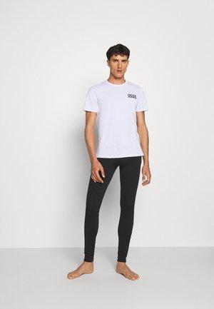 JACCHEST TEE 3 PACK - Unterhemd/-shirt - black/white/light grey melange