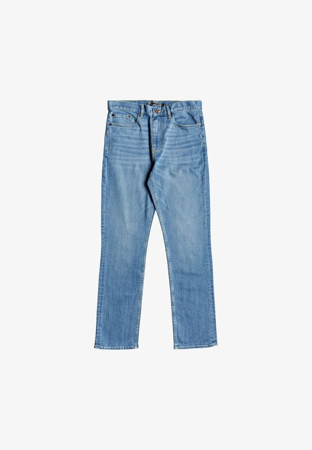 Straight leg jeans - LIGHT INDIGO BLEACH