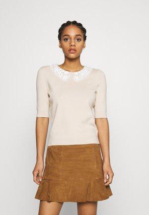 MARINETTE - Sweter - beige