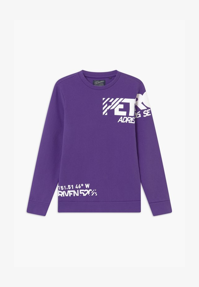 Sweatshirt - dark grape