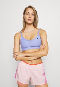 Nike Performance - INDY BRA - Sport BH - light thistle/black - 0
