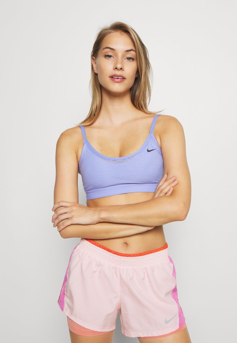 Nike Performance - INDY BRA - Sport BH - light thistle/black