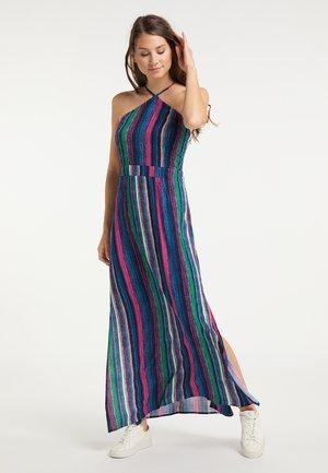 Maxi dress - multicolor gestreift