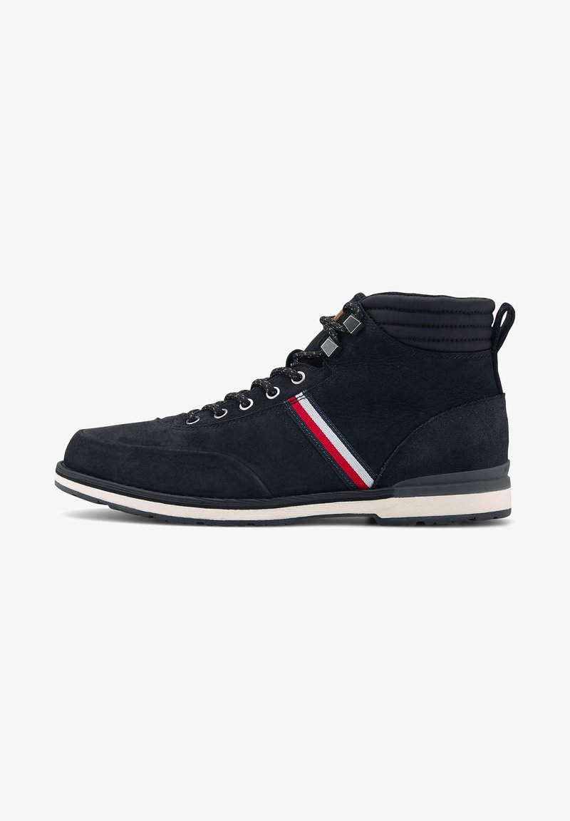 Tommy Hilfiger - OUTDOOR CORPORATE - Lace-up ankle boots - schwarz