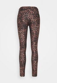 Guess - SEXY CURVE - Trousers - iconic leopard brown - 6