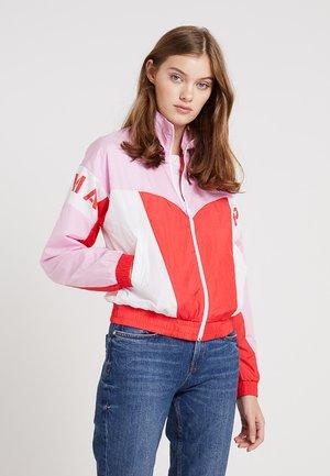 JACKET - Sportovní bunda - hibiscus