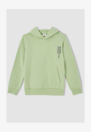 REGULAR FIT - Hoodie - green