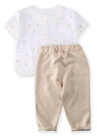 Cigit - SET - Trousers - beige/white - 1