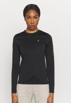 ALUM LIGHT LONG SLEEVE - Long sleeved top - black