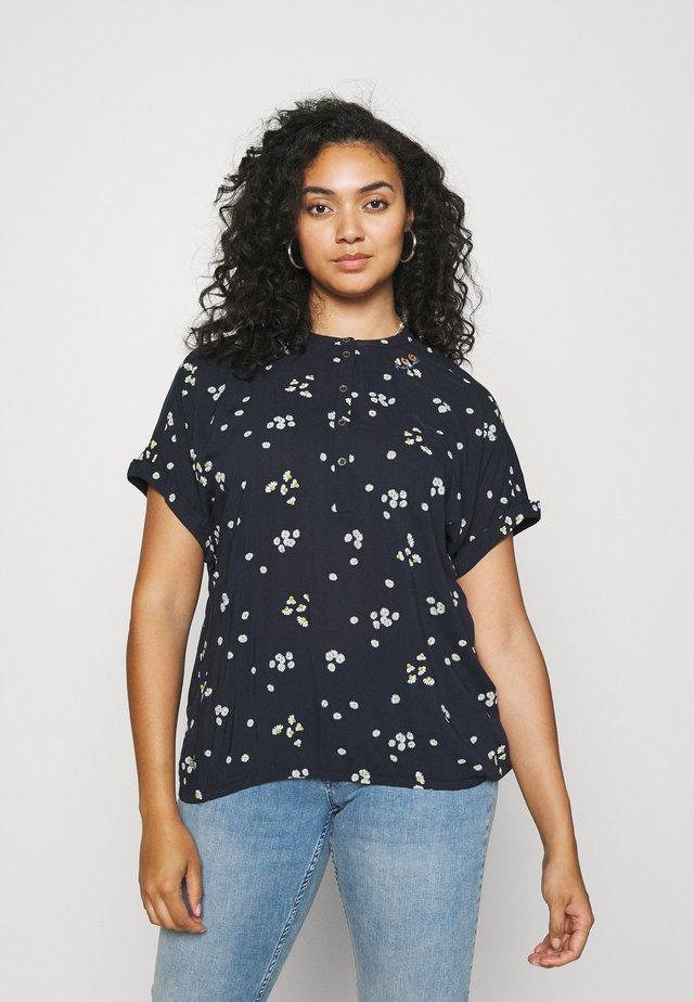 RICOTA CAMOMILE - T-Shirt print - navy