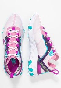 Nike Sportswear - REACT 55 - Zapatillas - flamingo/vivid purple/eggplant/oracle - 3