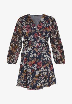 ONLDAISY SHORT DRESS - Vestido informal - sky captain/cool branches