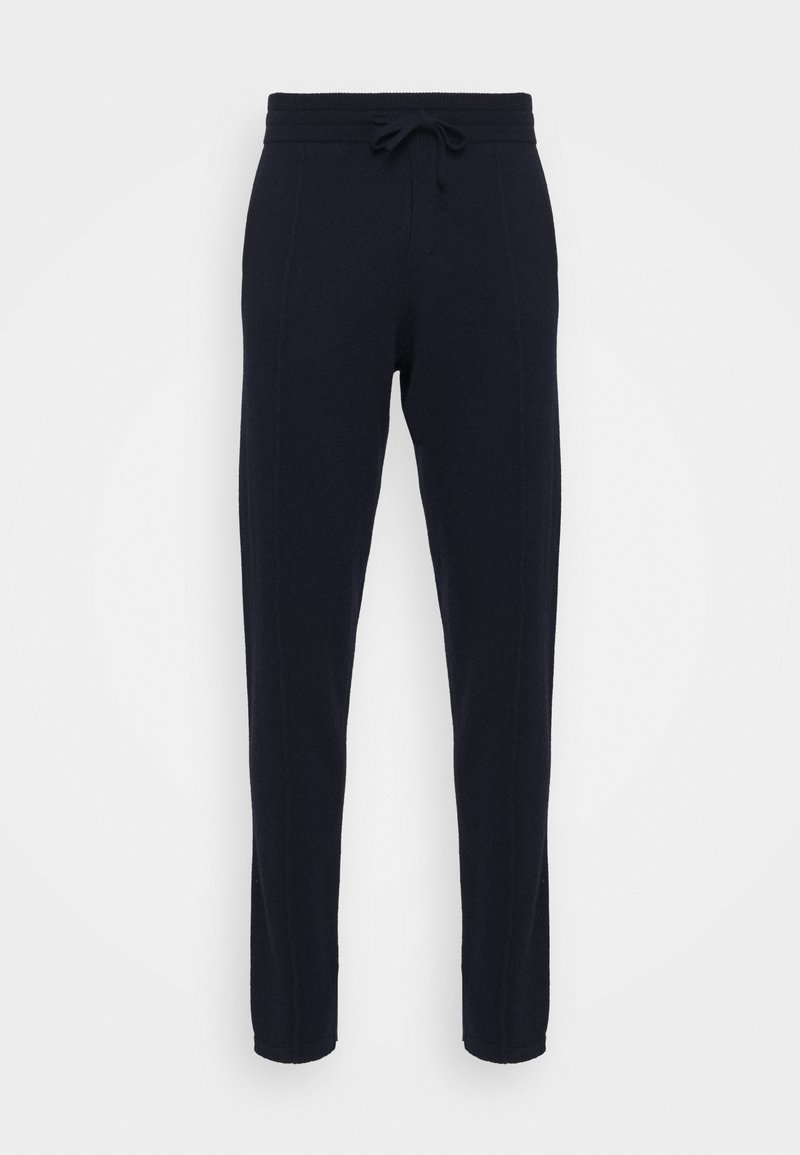 FTC Cashmere - TROUSERS - Teplákové kalhoty - dark blue