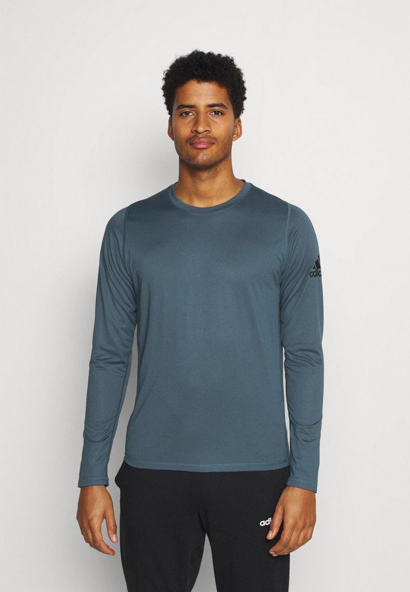 adidas Performance - FREELIFT SPORT ATHLETIC FIT LONG SLEEVE SHIRT - Sports shirt - legblu