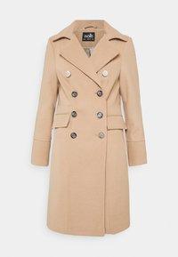 Wallis - LONGLINE REVERE - Classic coat - stone - 0