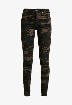 ONLNINE ESTER PANTS - Trousers - peat